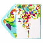 PAPYRUS Greeting Card Happy birthday Fanciful Candle Embellished