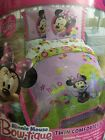 MINNIE MOUSE DISNEY BOW TIQUE TWIN COMFORTER SET 3PC NEW