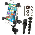 RAM Motorcycle Fork Stem Mount X Grip Cell Phone Holder for iPhone SE 5 6 6s 7 8