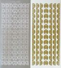 Lace Borders  Corners PEEL OFF STICKERS Delicate Corner Border Cardmaking