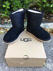 Youth Girls Ugg Class Short Serein Boot Black or Diva Pink Brand New In box