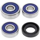 Suzuki TS185 TS185ER 1999 Front Wheel Bearings Seals Kit 25-1167