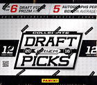2016 Panini Prizm Collegiate Draft Picks Football Hobby Box - Factory Sealed!