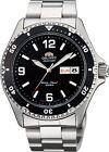Orient Watch Mako II Black FAA02001B AA02001B Stainless Steel 200M Diver Watch