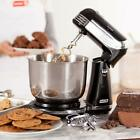 Kitchen Electric Black Stand Mixer Hand Bread Dough 6 Speed Cake Maker Bowl NEW