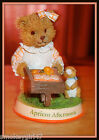 Smuckers Beary Patch Bears Apricot Afternoon Collectible Figurine 1999 Limited