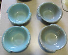 FRANKOMA GRACETONE 2X ORBIT AQUA GRAY SALAD BOWLS 4