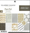 Studio Calico 6 x 6 Patterned Scrapbook Paper Pad Classic Collection