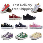 New Athletic Men Women Sneakers Unisex Shoes Classic Ox Low Top Casual Canvas