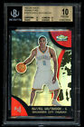 2007-08 2008-09 Topps Finest Russell Westbrook Refractors Rookie BGS 10 Pristine