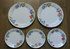 Corelle  Fresh Cut Tulips 2 Dinner Plates & 3 Salad / Luncheon Plates Excel