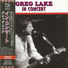 GREG LAKE In Concert VQCD-10175 CD JAPAN 2010 NEW