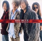 SHY BLUE CRIME and PAIN CD JAPAN NEW