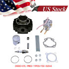 Cylinder Kit Top End Set 50cc Piston Gasket Rings FOR Yamaha PW50 1981 2009 US