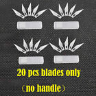 Exacto Knife 5-16-20 Blades 11 X-acto Hobby Multi Tool Crafts Cutting Style New