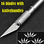 Exacto Knife + 5 16 20 blades 11 X acto Hobby Multi Tool Crafts Cutting Style