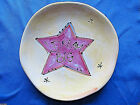 Vtg Julia Junkin Studio Small Plates Made In USA Excellent