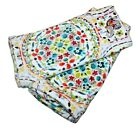 CYNTHIA ROWLEY HAPPY ELEPHANT HAND TOWELS Set of 2 VELOUR TOWELS WHITE NEW