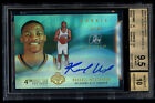 2008-09 UD Radiance Russell Westbrook 99 Rookie BGS 9.5 Auto 10 Gem Mint RC