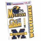 Michigan Wolverines Ultra Decal Set 11 X 17