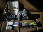 Nikon D700 Digital Camera FX full frame recharger and 2 batteries used