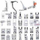 New Professional Domestic 32 pcs Sewing Machine Presser Feet Set for Brother,
