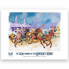 Kentucky Derby Art of the Derby KY Derby Print Horse Racing