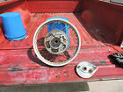 1974 Honda XL250 Rear Alloy Wheel and Brake Assembly
