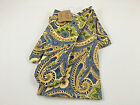 April Cornell Blue Green Gold Yellow Paisley 3 PC Kitchen Set NWT