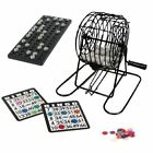 Family Bingo Lotto Lottery Numbers Machine Drinking Funny Party Game 75 Number