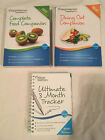 Lot WEIGHT WATCHERS 2012 COMPLETE FOOD Dining out POINTS Plus 3 MONTH TRACKER