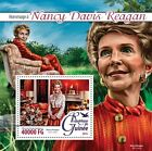 Z08 IMPERFORATED GU16218b GUINEA (Guinée) 2016 Nancy Davis Reagan MNH