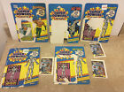 Lot of 5 Kenner Super Powers Card Backs and Comics only Batman Aquaman +