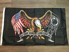 POW MIA Flag ALL GAVE SOME SOME GAVE ALL AMERICAN EAGLE BANNER FLAGS USA 3X5