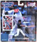 Starting Lineup: DEREK JETER w/ NY Yankees (2000) + Rookie Card