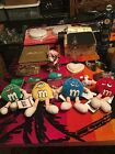 BRAND NEW Collectible M&M ALL 4 beanies/TAGS / NON-SMOKING /LAS VEGAS EXCLUSIVE