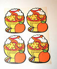 Vintage 80s Scratch N Sniff MELLO SMELLOS Peach Sundae Full Page 4 Stickers