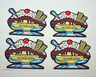 Vintage 80s Scratch N Sniff MELLO SMELLOS Hot Fudge Sundae Full Page 4 Stickers