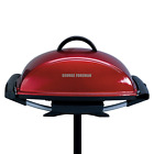 New George Foreman Indoor/Outdoor Electric Grill Non Stick Coating BBQ Cooking