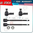 4 Pcs Suspension for 1989 1997 Geo Metro Outer  Inner Tie Rod End Kit