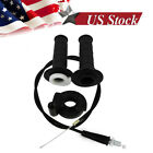 1 Set Throttle Grip Casing with Cable Handle Bar Grips fit Honda CR85RB CR250R