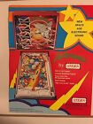 1978  STERN LECTRONAMO PINBALL PROMOIONAL BROCHURE --New IN PLASTIC COVER