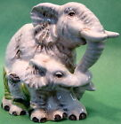 FITZ AND FLOYD CAPE TOWN ELEPHANTS SALT & PEPPER SET 2008 NEW in Original Box