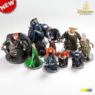 New Loose Disney Pixar BRAVE Movie Exclusive 10 Deluxe Figure Set Cake Topper