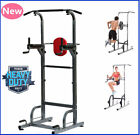 4in1 Power Tower Station Workout Pull Up Push Dip Station Knee Raise Home Gym MG