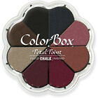 Clearsnap ColorBox Fluid Chalk Petal Point Ink Pad 8 Colors Nightfall
