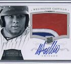 2012 National Treasure Wellington Castillo Autograph Patch RC 51 99 Auto