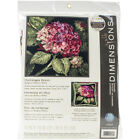 Dimensions Hydrangea Bloom Needlepoint Kit 14X14 Stitched In Wool
