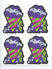 Vintage 80s Scratch N Sniff MELLO SMELLOS Grape Snow cone Full Page 4 Stickers