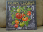 NEW 2017 FARM TO TABLE by Geoffrey Allen Wall Calendar (Large, 16 month)